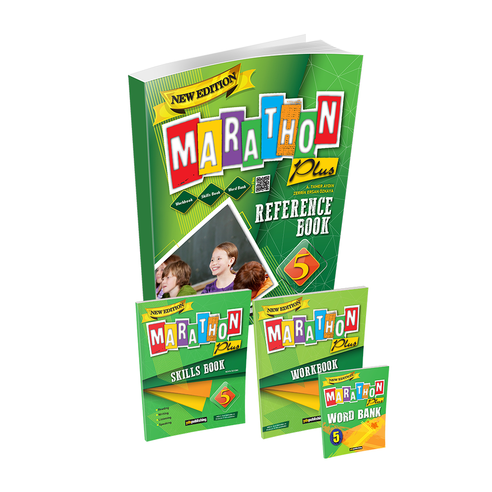 Marathon Plus 5 Reference Book Set