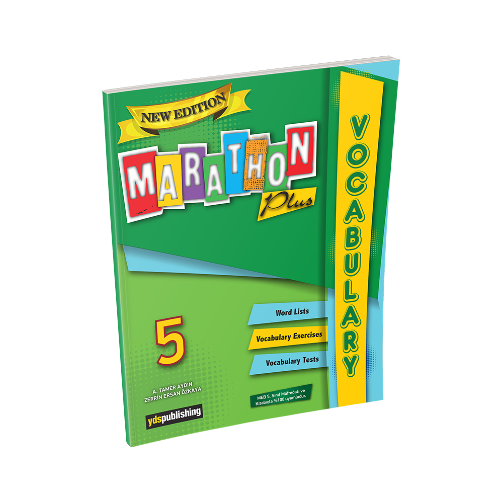 Marathon Plus 5 Vocabulary Book