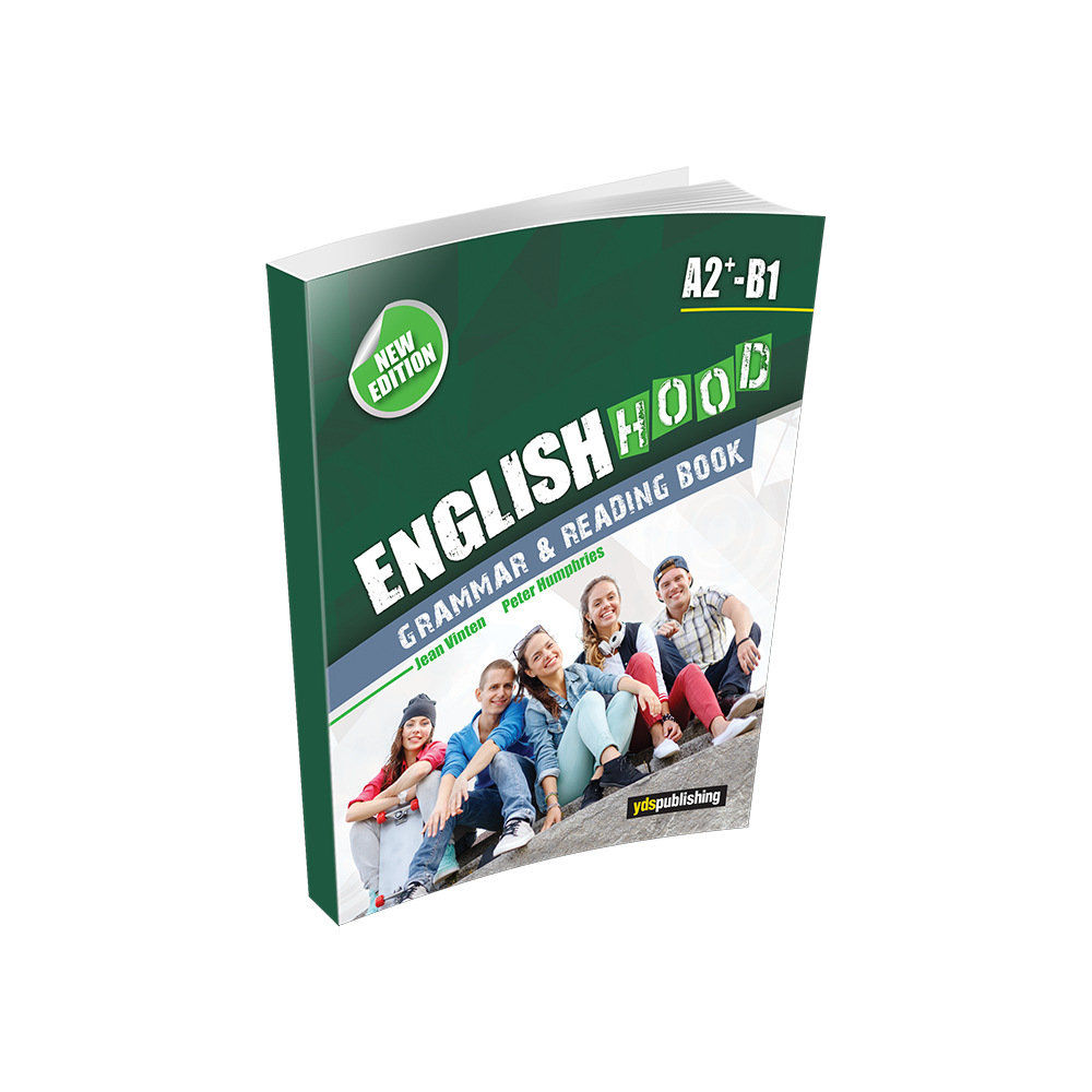 Englishhood A2+ / B1 - Grammar & Reading Book