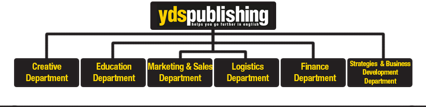 yds publishing organization chart