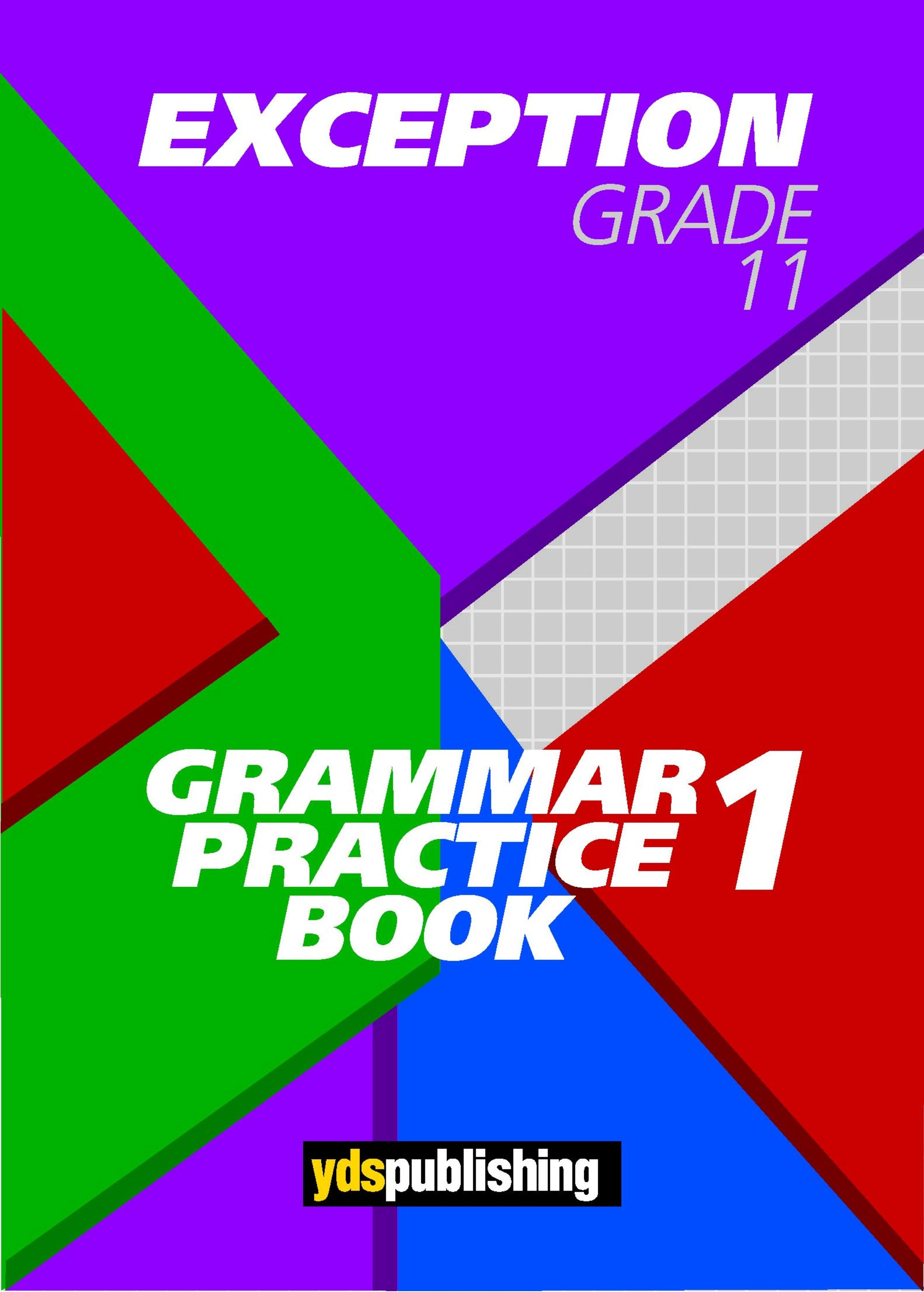 Exception Grade 11 Free Sample - Practice Book
